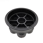 005-302-4032-03 | 6 Port Paramount Valve Base Black