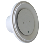 4DIV103 | 4In Floor Return Fitting Light Grey