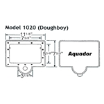 1020 | Aquador Skimmer Frame and Lid