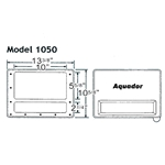 1050 | Aquador Skimmer Frame and Lid