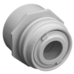 3502 | Flush-Mount Return Fitting with Water Stop Black