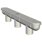 25506-327-000 | 32In Channel Drain & Sump Dark Grey