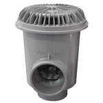 25513-401-000 | Large Outlet Nova Gunite Main Drain Gray