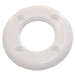 25546-000-000 | Threaded Vinyl Pool Face Plate White