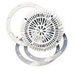 25548-100-000 | Vinyl Liner Main Drain Kit White