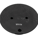 DIV0101 | Floor Return Diverter Plate Only White