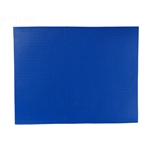 Solid Safety Cover Patch Blue