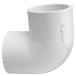 406-010 | PVC Socket Elbow 90 Degree 1 Inch