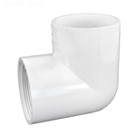 407-020 | PVC Female x Socket Elbow 90 Degree 2 Inch