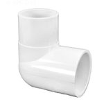 409-025 | PVC Street Elbow Socket x Spigot 90 Degree 2-1/2 Inch
