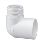 410-007 | PVC Male x Socket Elbow 3/4 Inch