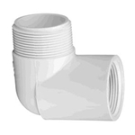 412-010 | PVC Male x Female Elbow 1 Inch