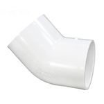 417-025 | PVC Socket Elbow 45 Degree 2-1/2 Inch
