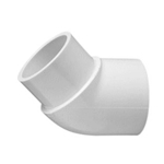 423-020 | PVC Street Elbow Socket x Spigot 45 Degree 2 Inch