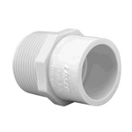 436-213 | PVC Reducer 1-1/2 Inch Male x 2 Inch Socket
