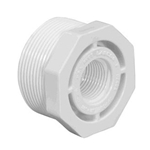 439-131 | PVC Reducer 1 Inch Male x 3/4 Inch Female