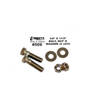 509 | Stainless Steel Nut Bolt and Washer
