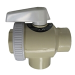 SP0730 | Ball Valve 3-Way ABS