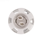 3 5/8In. Twin Roto Poly Storm Thread In Jets 5 Scallop Plastic / Stainless Steel