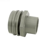 400-9197 | Flush Mount Return Fitting Gray