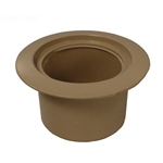 519-6719-BEI | Volleyball Pole Holder Flange Only - Beige