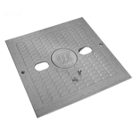 WW5406497WW | Square Lid with Logo Insert Grey