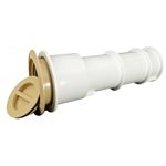 540-6709EI | Volleyball Pole Holder Assembly - Beige