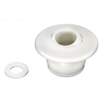 550-9230B | Self-Aligning Return Fitting White