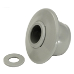 550-9237B | Self-Aligning Return Fitting Grey