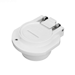 Vac Lock 1-1/2In Mpt White