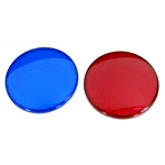 Light Lens Kit  1 Red  1 Blue
