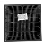 640-4729-DKGV | 12 x 12 Inch Grate and Frame Dark Grey