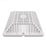 642-4790V | Square Drain Cover 9 Inch - White